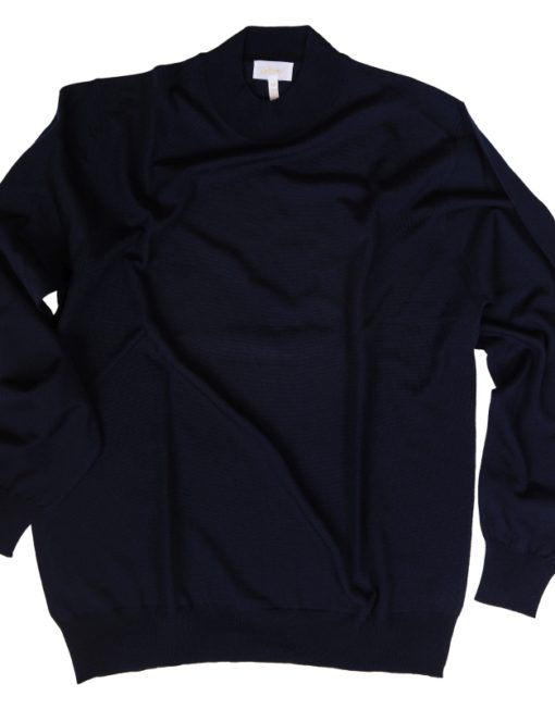 Brioni Cashmere/Silk Sweater Mock Neck
